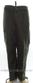 Belgische leger ABL broek groen - maat 3B = Small  - origineel