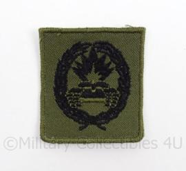 KL Landmacht vaardigheids borst embleem Pantserbestrijding voor op het GVT - afmeting 4,5 x 5 cm - origineel