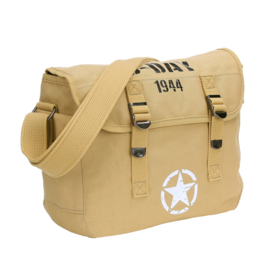 US Army D-Day 1944 Allied Star pukkel met opdruk - COYOTE - 32 x 12 x 24 cm