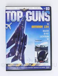 DVD Top Guns Flying Through Time Antonov 124 aflevering 3 Reuzen uit het luchtruim - speelduur 25 minuten -  nieuw -  19 x 13,5 x 1,5 cm - origineel
