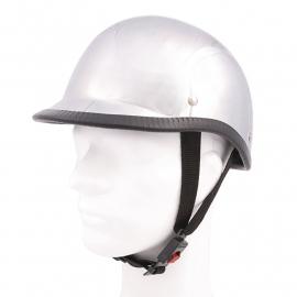 "Motor & Brommer helm - ""Hawk"" Chroom"