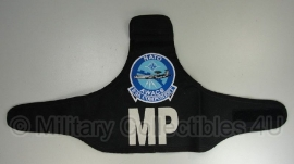 AWACS NATO Air Base E-3A MP Military Police armband - origineel