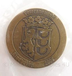 KL Landmacht Coin Veteranendag Eindhoven 2006 - doorsnede 4 cm - origineel