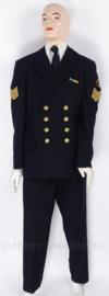 KM uniform set, jasje, broek en pet - maat 50- origineel
