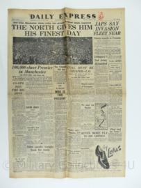 Daily Express krant - 27 June 1945 - origineel