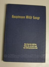 Boek - Hauptmann Willy Lange - origineel 1936