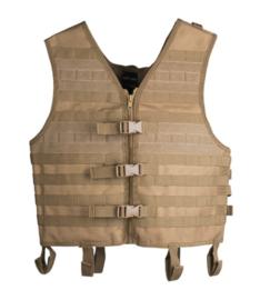Tactical GEN II MOLLE vest - Coyote - nieuw gemaakt