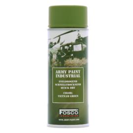Spuitbus verf Fosco 400ml -  US Army Vietnam oorlog green