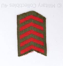 WO2 Britse of Canadese Service stripes WW2 British or Canadian  - 6,5 x 4 cm - origineel