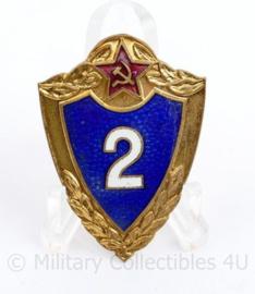 USSR Russische leger insigne Specialist 2e klasse  - 4,5 x 3 cm - origineel