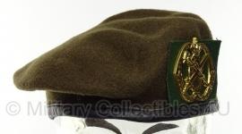 KL Nederlandse leger Geneeskundige Dienst baret - oud model - maat 55, 57, 58, 59, 60 en 61 - origineel