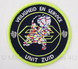 "Embleem Spoorwegpolitie ""veiligheid en service unit zuid"" - 9 cm"
