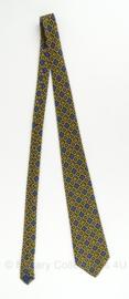 Nederlandse Politie stropdas met logo's - 147 cm - origineel