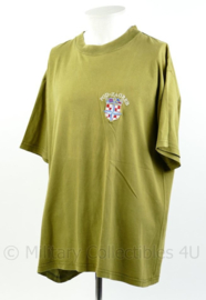 Defensie T-shirt POD-Zagreb Kroatisch - maat XL - origineel