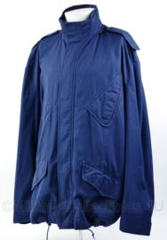 Nederlandse politie  blauwe ME jas - maat 56 - origineel
