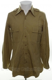 US officer khaki shirt - size XS - Victory Regulation officers shirt - origineel WO2 US