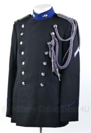 KMAR Marechaussee  DT uniform jas met nestelkoord - vroeg model - maat 51- rang Wachtmeester der eerste klas - origineel