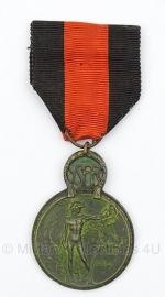 Belgische ijzer ereteken Ysermedaille  medaille  - Origineel
