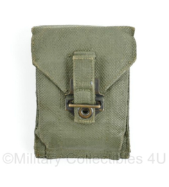 KL en Korps Mariniers koppeltas groen Webbing - 13 x 9,5 x 3 cm - origineel