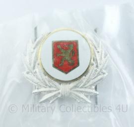 onbekend officiers pet insigne - nieuw in de verpakking - 5 x 4,5 cm - origineel