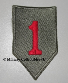 1st Infantry Division patch - Big red one