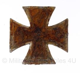 WO2 Duits ijzeren kruis 1e klasse model 1939 - bodemvondst - origineel
