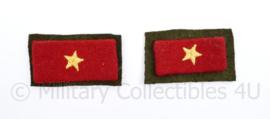 Nieuw gemaakt WO2 Japanse leger kraagspiegel paar  - Replica