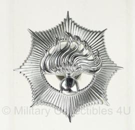 Rijkspolitie pet embleem metaal - origineel