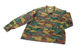 Belgische leger JIGSAW camouflage uniform jas - NIEUW IN VERPAKKING - maat XXL of 3xl - origineel