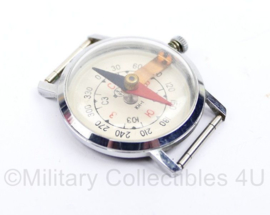 Russische USSR horloge kompas  Wrist watch COMPASS Analog Vostok Wostok USSR Russian KH-1  - 4 x 4  cm - origineel