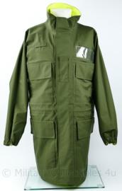 Britse Jacket reversible high visability  Green Yellow - medium - origineel