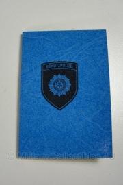 DDR Schutzpolizei Ausweis - origineel