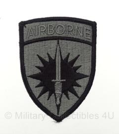 US Airborne patch voor ACU camo uniform - met klittenband - origineel