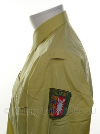 Polizei overhemd lange mouw Landesportal Schleswig Holstein - meerdere maten - origineel