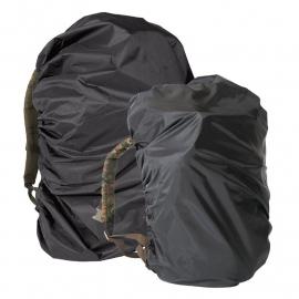 Rugzak overtrek - zwart - maat 3 (14,95) - nieuw gemaakt - voor 100 tm. 130 liter