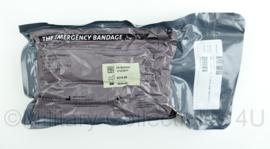 Leger The Emergency Bandage 4 inch  wondverband Large wound amputation dressing - made in Israel - tht 06-2024 - origineel