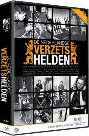 4 DVD box set Nederlandse verzetshelden