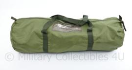 Nederlandse en Britse leger groene draagtas universeel  - 58 x 20 cm - origineel