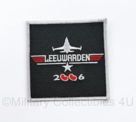 Klu Luchtmacht embleem Leeuwarden 2006 - 9 x 9 cm - origineel