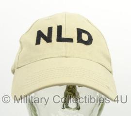 KL Nederlandse leger baseball cap 'NLD' - maker Hassing 2014 - licht gedragen - zeldzaam - origineel