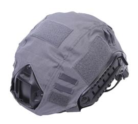Tactical helmet cover MICH FAST helm overtrek Wolf Grey - nieuw gemaakt