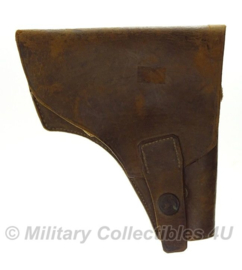 Antiek  holster - English Make - bruin leer - origineel