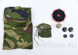 Korps Mariniers Forest Woodland Camo naaiset - 11,5 x 7,5 x 1,5 cm - origineel