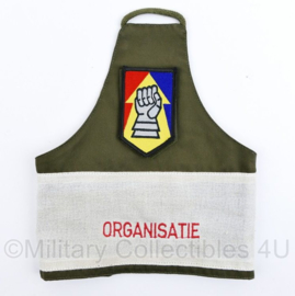 Defensie armband Opleiding en Trainingscentrum Manoeuvre oRGANISATIE - 24,5 x 20 cm - nieuw - origineel
