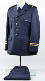 KLU Luchtmacht zeldzaam GLT Gala tenue jas met broek 1967 - met GLT epauletten - rang Kapitein - maat 46 ¼ - origineel