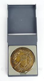 "Franse politie coin ""1e Brigade Mobile 30 Decembre 1907 Brigades du Tigre"" - in doosje - origineel"