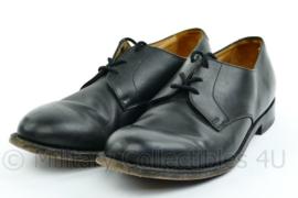 KL Nederlandse leger DT nette schoenen - gedragen - Lederen zool - van Lier - zwart - maat 8,5 - origineel