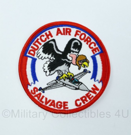 Nederlands leger - embleem Dutch Air Force Salvage crew - origineel