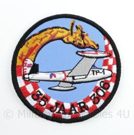 KLu Koninklijke Luchtmacht embleem 35 jaar 306th Squadron - met klittenband -12 x 13,5