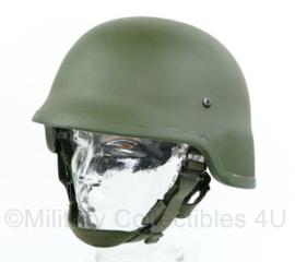 KL Nederlandse leger composiet helm zonder overtrek - maat Large - defect binnenwerk - origineel